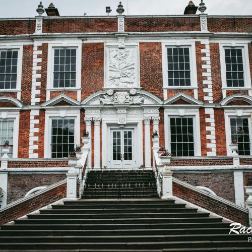 croxteth hall front steps leading to the main entrance door used alongside were good to go branding