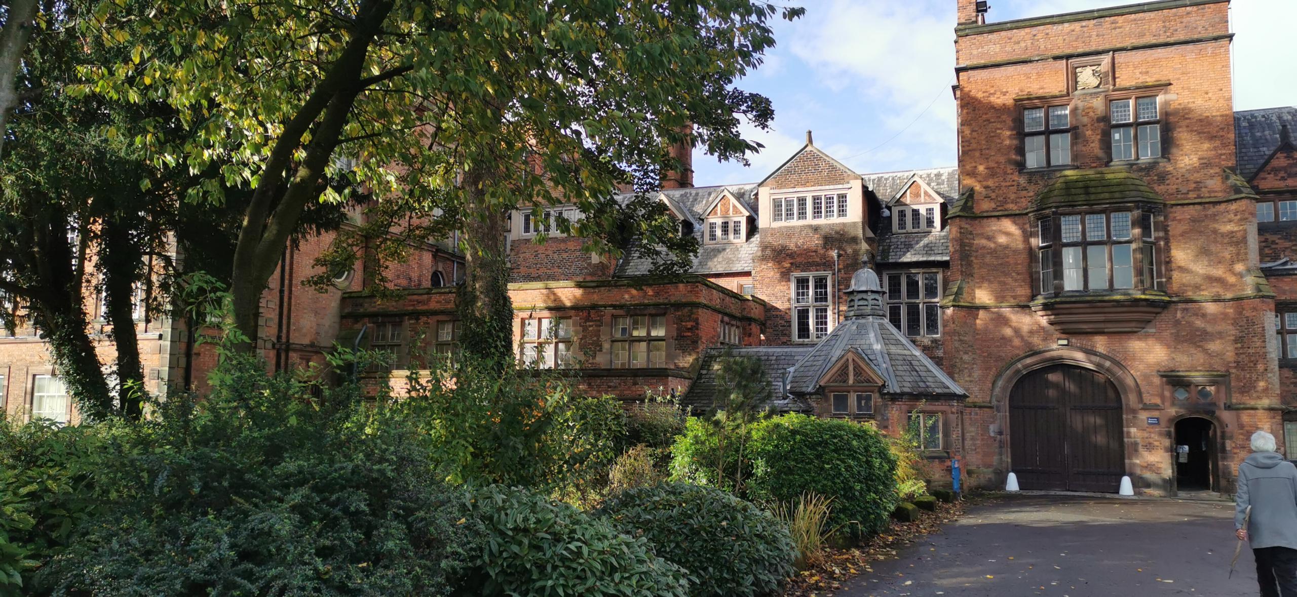 Croxteth Hall (rear entry)
